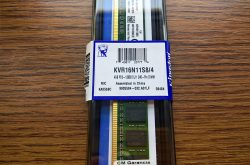 Kingston 4GB DDR3 1600MHz Single Rank