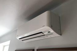Toshiba Super Daiseikai 8 inverteres oldalfali klíma klima légkondi légkondicionáló