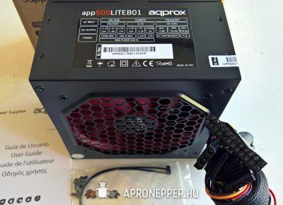 Approx APP500LITEB01 500W táp