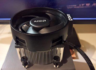 AMD Ryzen Wraith Spire (AM4, 1600-hoz volt, gyári)