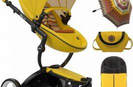 Mima Xari komplett babakocsi, korlátozott kiadású – sárga