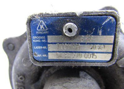 Opel Combo/Corsa turbó feltöltő